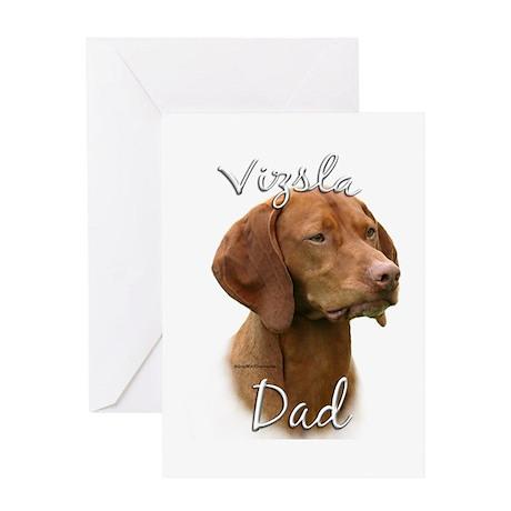 Vizsla Dad2 Greeting Card