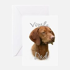 Vizsla Dad2 Greeting Card