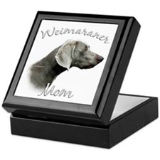 Weimaraner Mom2 Keepsake Box