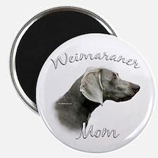 Weimaraner Mom2 Magnet