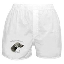 Weimaraner Dad2 Boxer Shorts