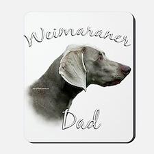 Weimaraner Dad2 Mousepad