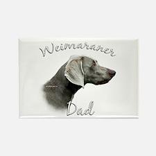 Weimaraner Dad2 Rectangle Magnet