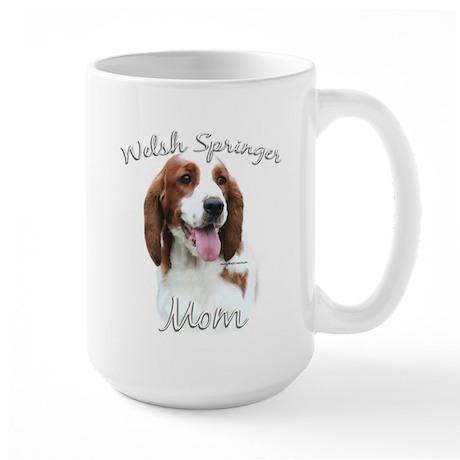 Welsh Springer Mom2 Large Mug