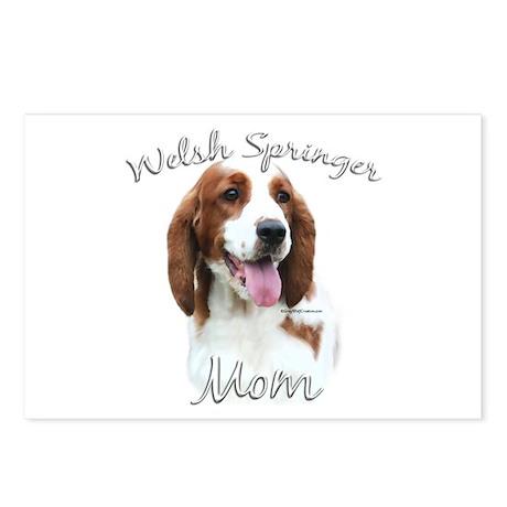 Welsh Springer Mom2 Postcards (Package of 8)