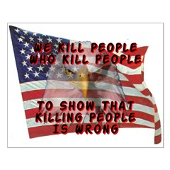 We Kill People Who Kill Posters