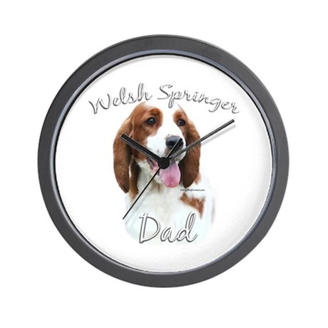 Welsh Springer Dad2 Wall Clock