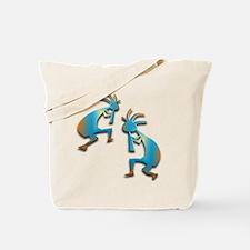 Two Kokopelli #30 Tote Bag