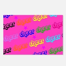Pink Cheerleader Postcards (Package of 8)