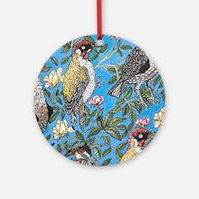 Wild Birds Round Ornament