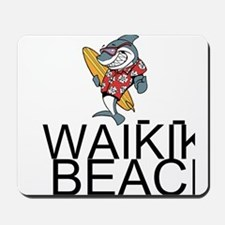 Waikiki Beach Mousepad
