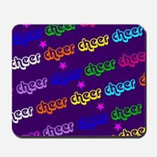 Purple Cheerleader Mousepad