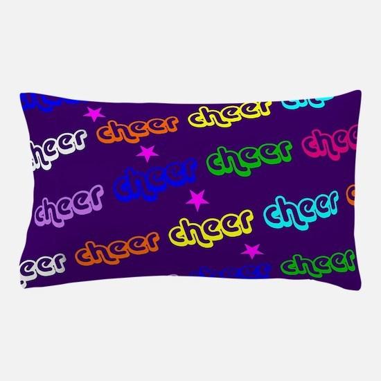 Purple Cheerleader Pillow Case