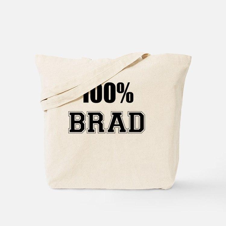 Cute Brad Tote Bag