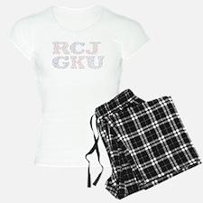 Rock Chalk Jayhawk Go Ku Women's Light Pajamas