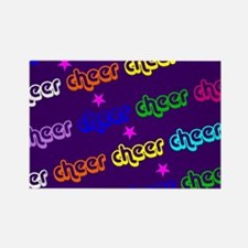 Purple Cheerleader Magnets