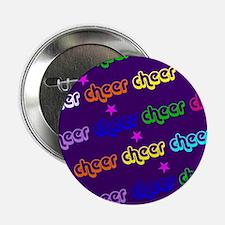 """Purple Cheerleader 2.25"""" Button"""