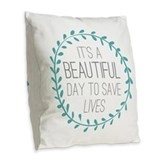 Greysanatomytv Burlap Pillows