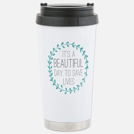 Grey's Anatomy Beautiful Day Travel Mug