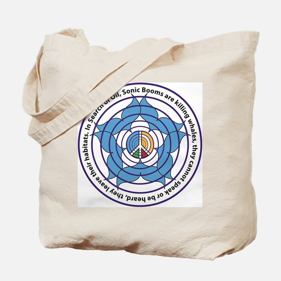 Oceanic Sonic Booms Kill Whales Tote Bag