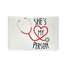 Grey's Anatomy: She's My Person Rectangle Magnet