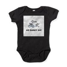 Cute Tri daddy tri Baby Bodysuit