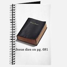 Jesus Dies Journal