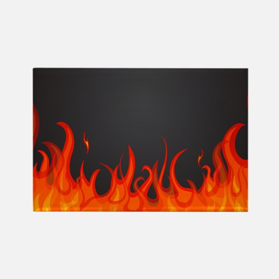 Flames Magnets