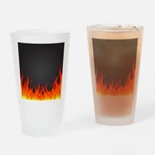 Flames Drinking Glass