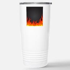 Flames Travel Mug