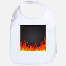 Flames Bib