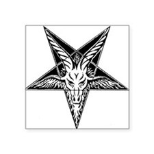Goat of Mendes Oval Sticker