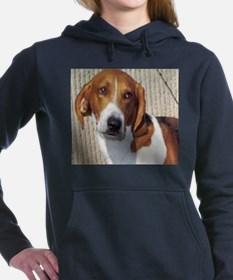 american foxhound Women's Hooded Sweatshirt