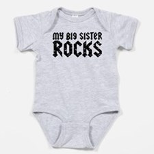Unique I love my big sister Baby Bodysuit