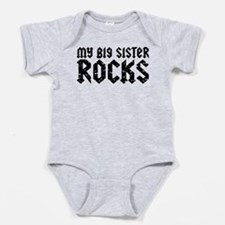 Cute I love my big sister Baby Bodysuit