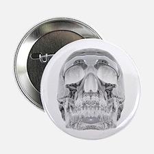 """Crystal Skull 2.25"""" Button"""