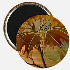 maple leaf dragon Magnets