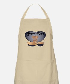 Cook or Chef Personalized Dark Blue Apron