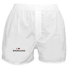 I Love     STEPHANIE Boxer Shorts