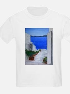 Oia Stairway T-Shirt