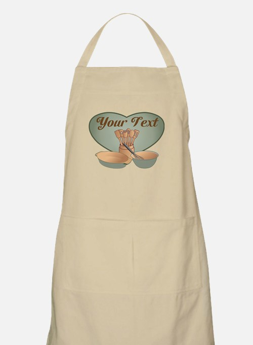 Cook or Chef Personalized Sage Green Apron