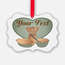 Cook or Chef Personalized Sage Gr Ornament