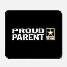 U.S. Army: Proud Parent (Black) Mousepad