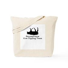 Pennsylvania Cow Tipping Tote Bag