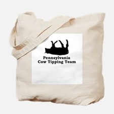 Pennsylvania Cow Tipping Tote Bag