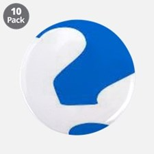 "Who Will Answer 3.5"" Button (10 pack)"