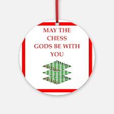 chess Round Ornament