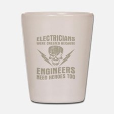 Cute Electrician Shot Glass