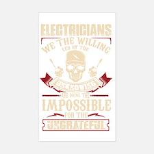 Unique Electrician Sticker (Rectangle)