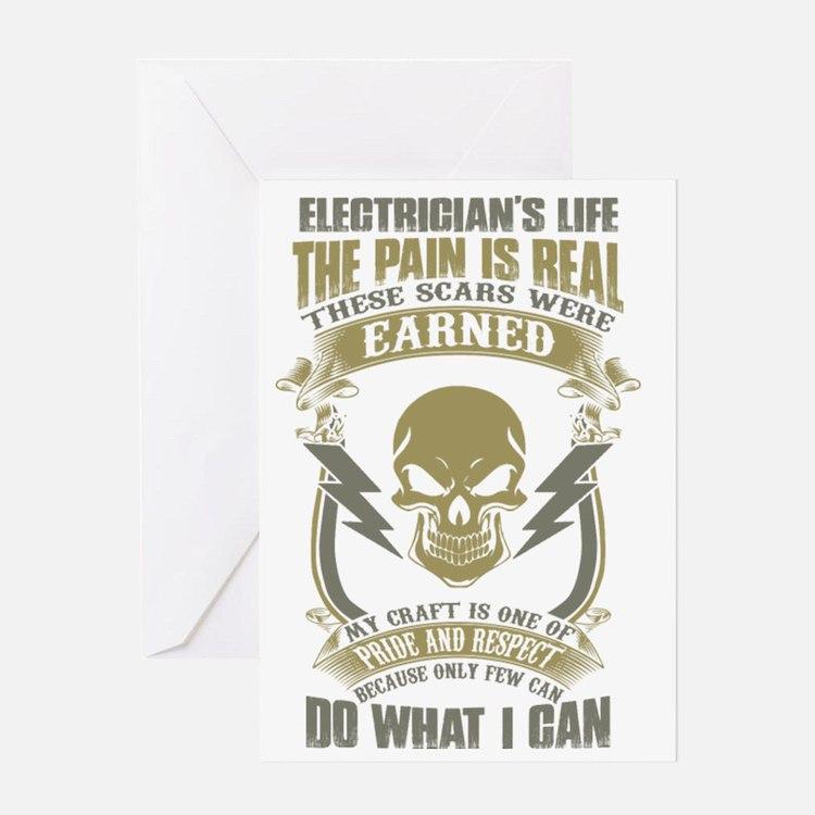 Cute Electrical Greeting Card